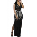 Women Lace Ball Formal Prom Bodycon Dress