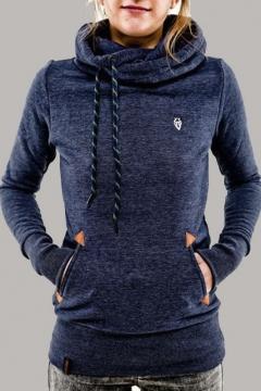Women's Casual Thick Hooded Fleece Sweater Sweatshirt Jacket