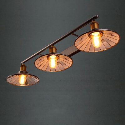 Brilliant Design Industrial Country 3 Light 34 3 Wide Wall