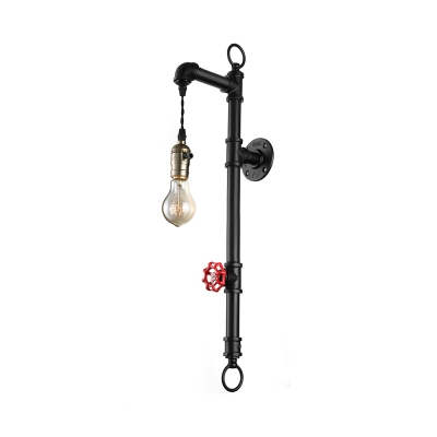 Industrial Style Interior Wall Lights : Fashion Style Pipe, Wall Sconces Industrial Lights - Beautifulhalo.com
