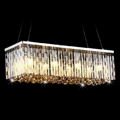 Fashion style glass prism ceiling lights spiral chandeliers crystal lights - Crystal hanging chandelier ...