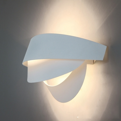 beautiful three tiers soft and modern white designer wall lights