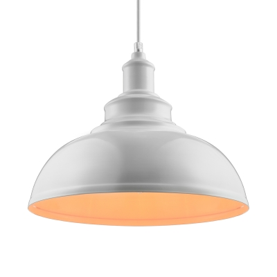 industrial retro pendant lamp in white color finish antique industrial pendant lights white