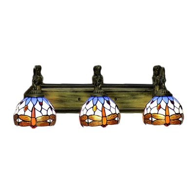 Stained Glass Vanity Light Fixtures : Fashion Style Mermaid Tiffany Lights - Beautifulhalo.com