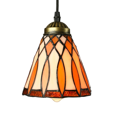 5 inch bell shade stained glass tiffany one light mini pendant lighting browse mini pendant orange