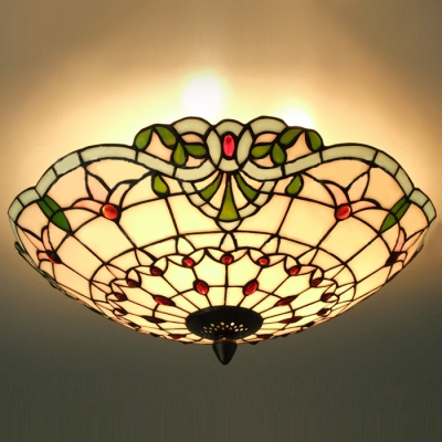 Style Multilight Pendant, Flush Mount Ceiling Light Tiffany Lights