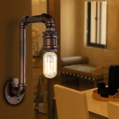 Wall Lamp Height Standard : 12 Height Aged Copper Finish Sconce Wall Lamp - Beautifulhalo.com