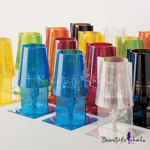 Buy Colorful Acrylic Designer Table Lamps Great Bedroom