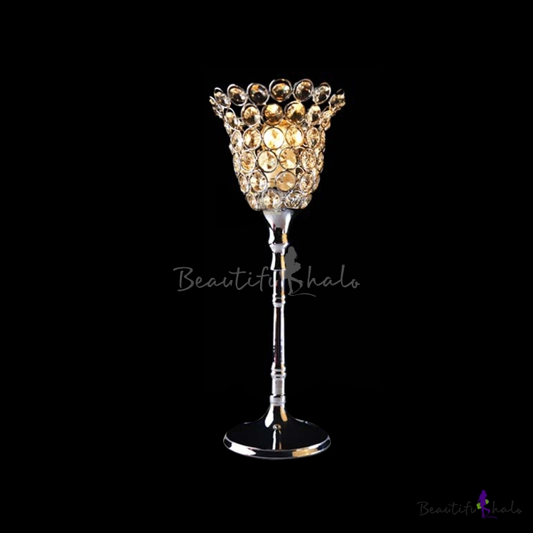 Buy Beautiful Flower Style Table Lamp Offers Gleaming Light Modern Look