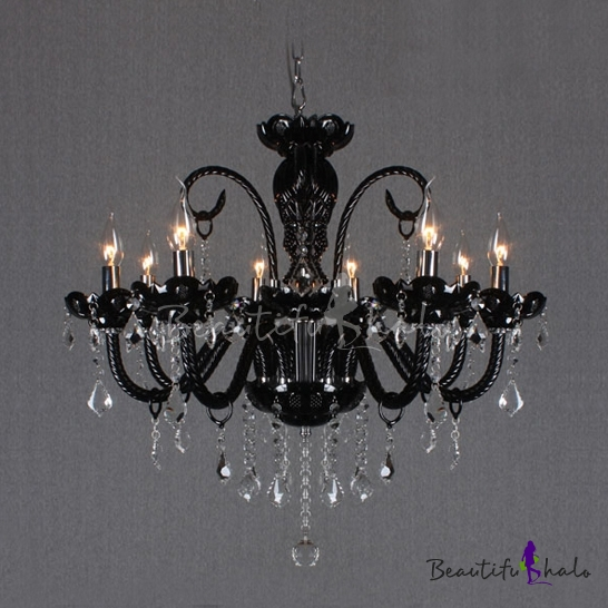 Buy 3 Light Crystal Chandelier Floral French Lustre