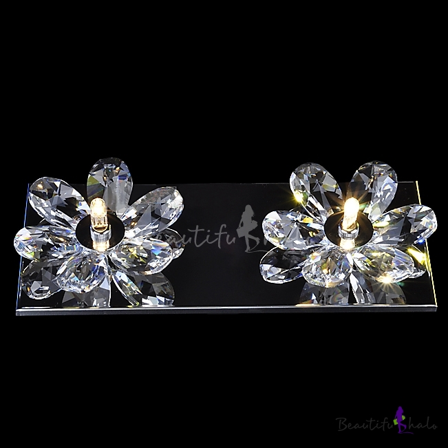 Buy Beautiful Flowers Design Add Charm Delightful Double Light Wall Sconce Barthroom