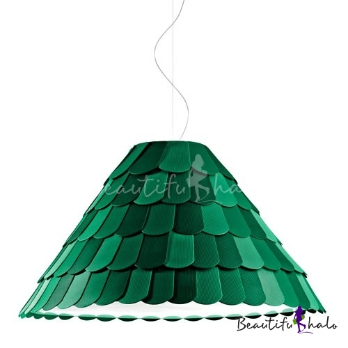 Buy Silicone Fish Scale Roof Designer Large Pendant Light Restaurant
