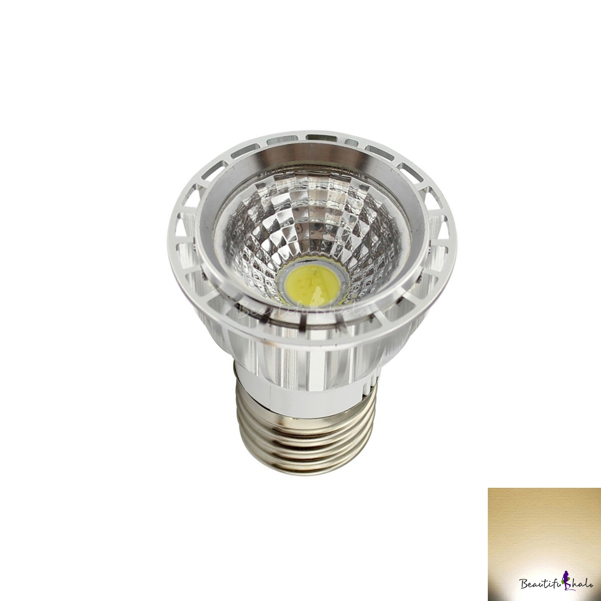 Buy E27 COB 3W LED 85V-265V Alumimium