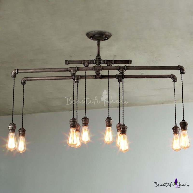 Buy 43'' Wide Large Pool Table Linear Island Pendant Light