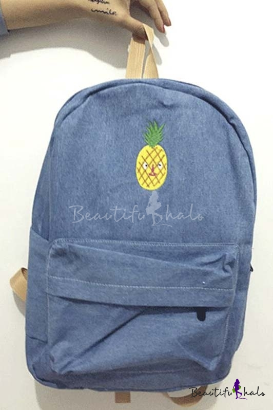 Buy Vintage Style Fruit Collection Young Backpack/School Bag/Travel Bag