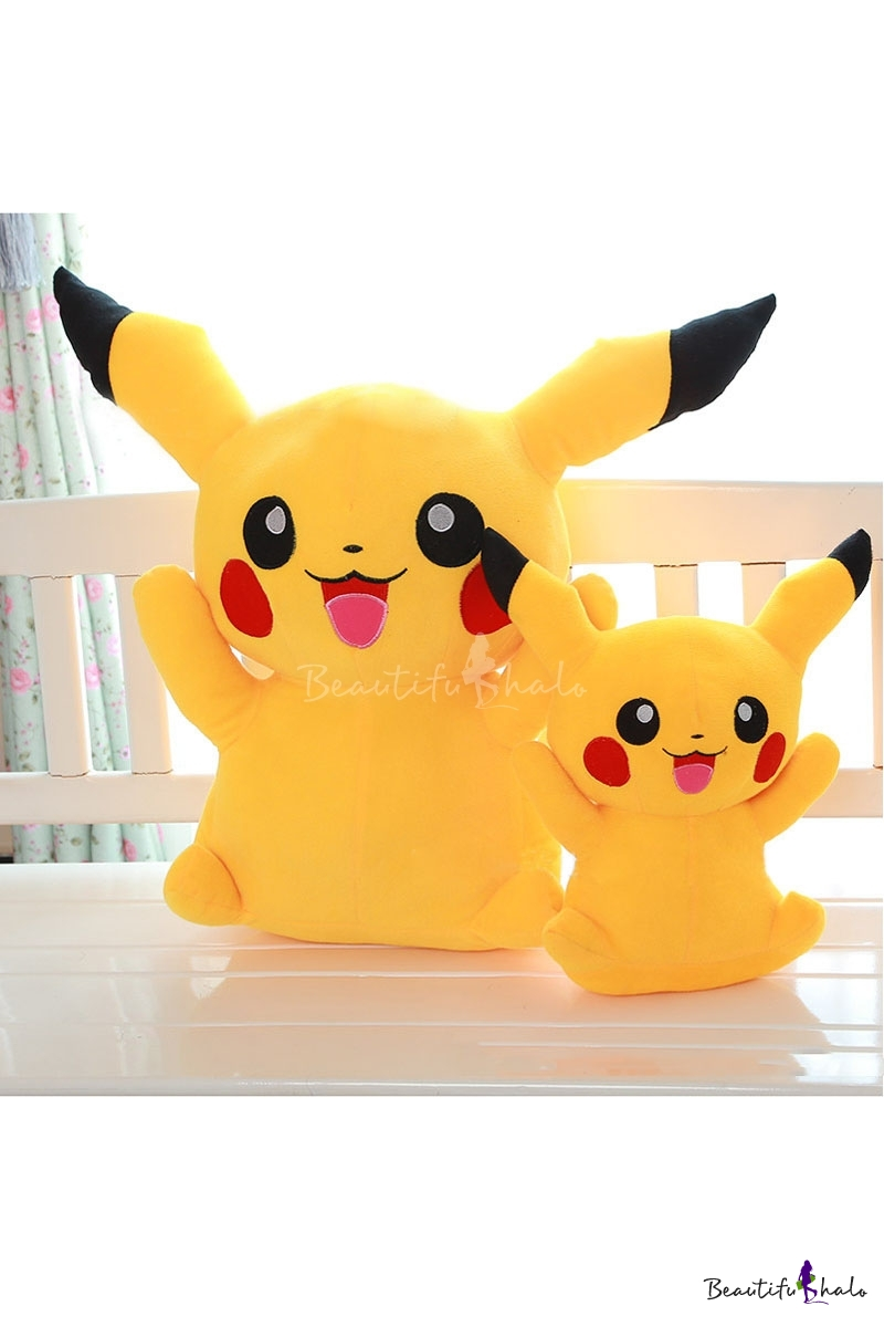 Buy Pikachu Kawaii Hot Game Character iMonster Pokemon Go Cartoon Stuffed Toy Plush Doll Kids&Girls Toys Birthday Gifts