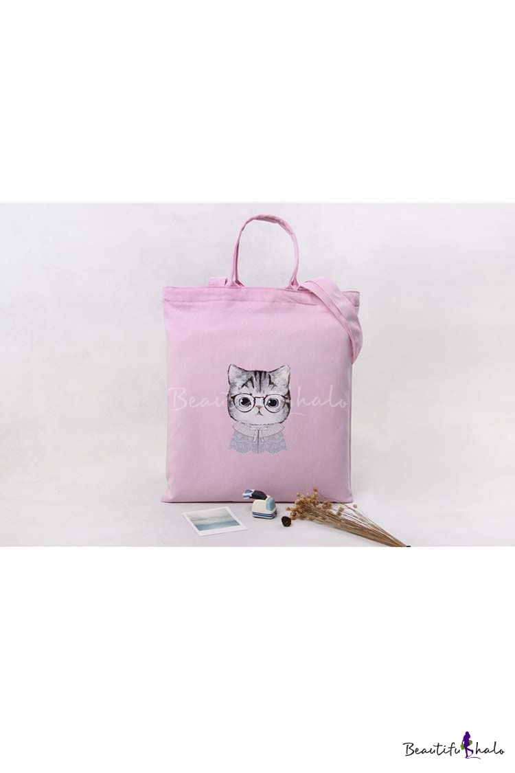 Buy Fashion Young Style Cat Pattern Eco-Friendly Shoulder Bag Outdoor