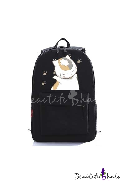 Buy Cartoon Cat Pattern Graphic Fashion Casual Young Style Backpack/School Bag/Travel Bag