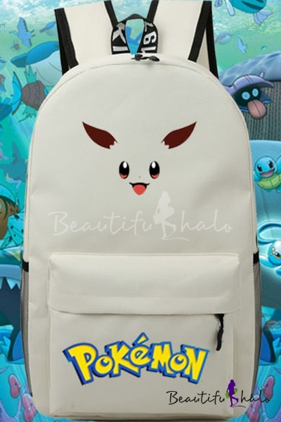 Buy Game Character iMonster Pokemon Go Cartoon Pattern Popular Casual Young Style Backpack/School Bag/Travel Bag