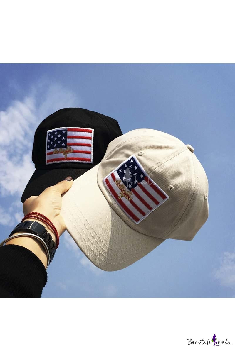 Hot Patchwork Flag Street Style Outdoor Leisure Fashion Summer Baseball Caps Outdoor Caps