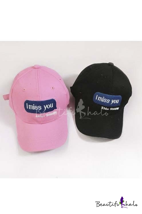Outdoor Leisure Sweet Lovers Fashion Summer Baseball Caps Outdoor Caps