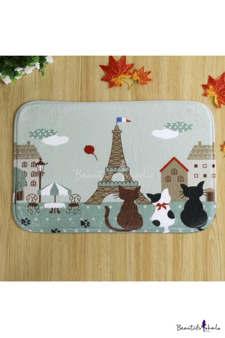 Buy Style Cute Cats Doormat Indoor/Outdoor/Front Door/Bathroom Mats Non Slip