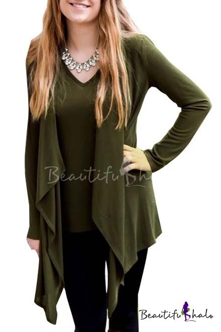 "Buy 2016 Irregular Length Women Cardigan Fashion Design Knitwear Coat Loose Sweater Cape Poncho Maternity Autumn Cardigans """