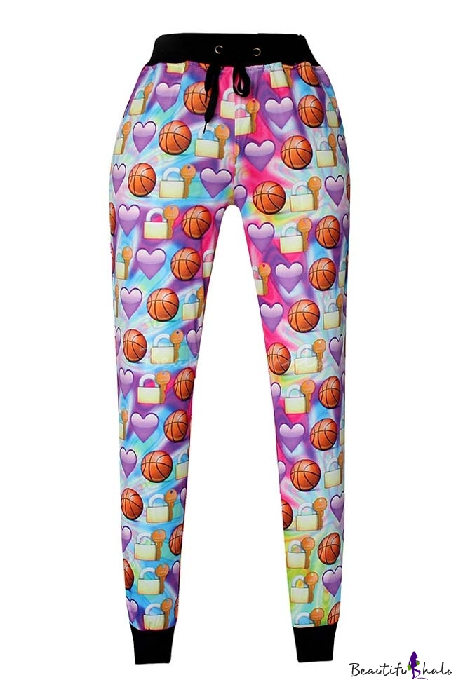Buy 3D Emoji Printed Teen Jogger Pants Sweatpants S-XL