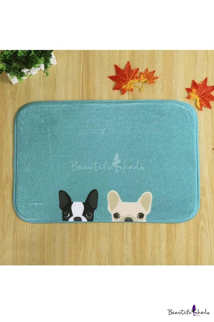 Buy Cute Dogs Doormat Entrance Mat Indoor/Outdoor/Front Door/Bathroom Mats Non Slip
