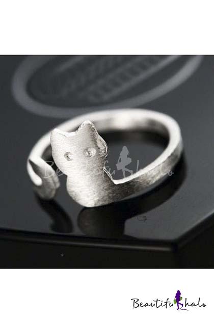 Buy 2016 Hot Cute Cat Adjustable Open Ring