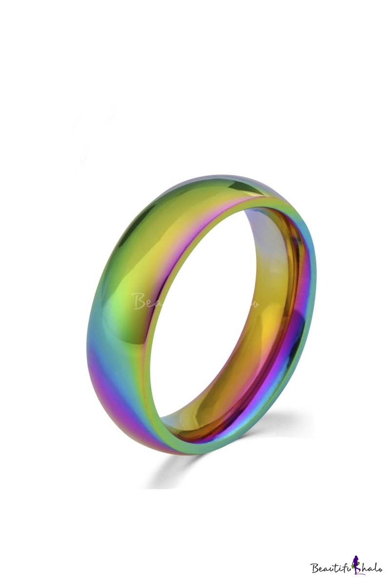 Buy Colorful Titanium Ring