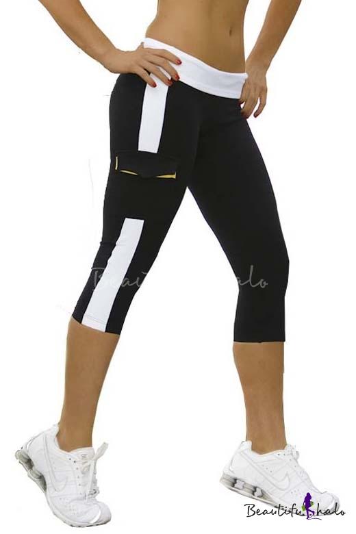 Buy Women's Running Capri Tights YOGA Pants Leggings