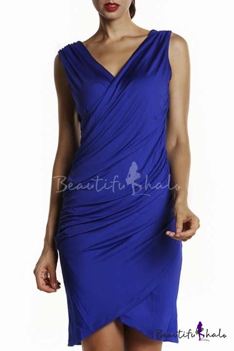Buy Women Long Sleeve Bandage Bodycon Party Club Dresses