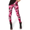 2014 New Style Trendy Camouflage Spandex Elastic Leggings