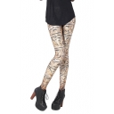 Ancient Egyptian Cuneiform Print Full Length Leggings