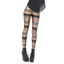 Tribal Print High Waist Full Length Leggings