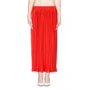 Must-Have Maxi Skirt with Accordion Pleats