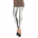 High Rise Color Block Ankle Leggings in Cotton-blend