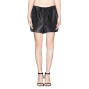Metallic Loose Fit Pocket Shorts in Shimmering Fabric