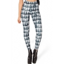 Various Horrific Mummy Picture Collections Pattern Elastic Leggings