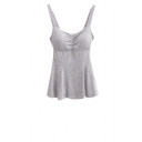 Plain Skinny Padded Cup Cami Top in Modal