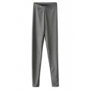New Arrival Skinny Stretch Leggings in Solid Color