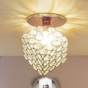 Modern Designed Cube Frame Made Spectacular Semi Flush Ceiling Light Welcomed Addition