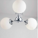DNA Flush Mount Ceiling Light Three-light