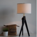 "Metal Tripod Chic And Elegant Designer Style Floor Lamps In 30.7""High Black"
