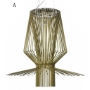 Brilliant Design and Novelty Designer Natural Rattan Large Pendant Light