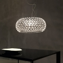 Acrylic Ball Clear Transparent Pendant Light 25.6