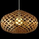 "Novelty Oval Brilliant Designer Pendant Light For Dinning Room 20""Wide"