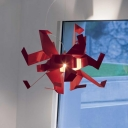 Red Crane Novel Suspension Pendant Light