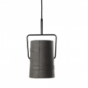 "Mini Cylinder 7.8""Wide Designer Pendant Light for Dinning Room"